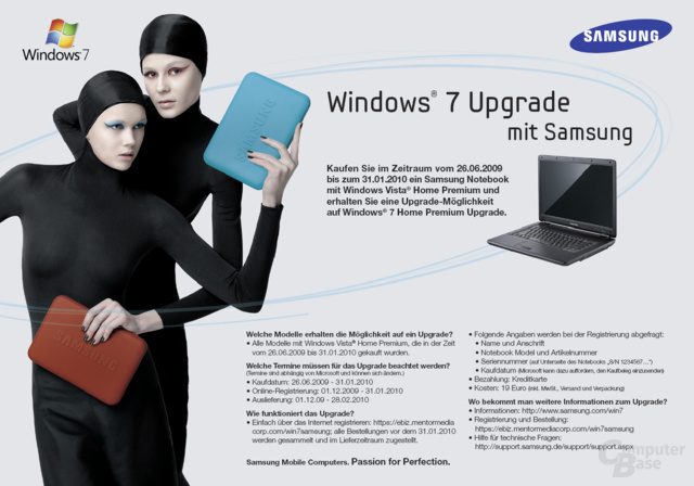 Samsung Windows 7 Upgrade Programm