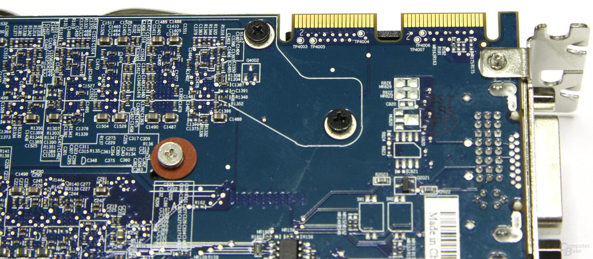Radeon HD 4890 Atomic CF-Anschlüsse
