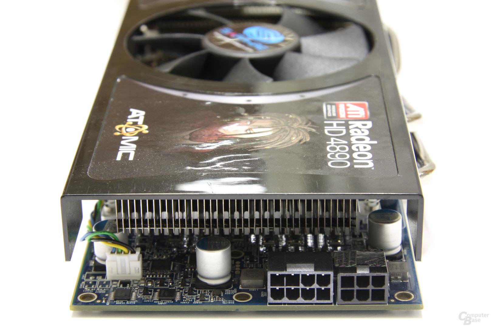 Radeon HD 4890 Atomic Stromanschlüsse