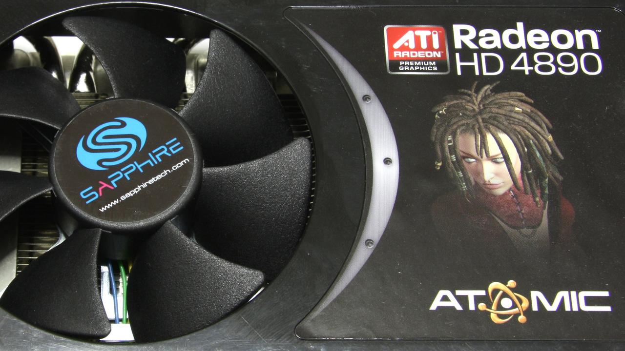 HD 4890 Atomic im Test: Sapphire bringt gute Radeon-Karte in limitierter Anzahl