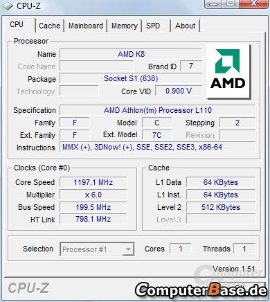 AMD Athlon L110