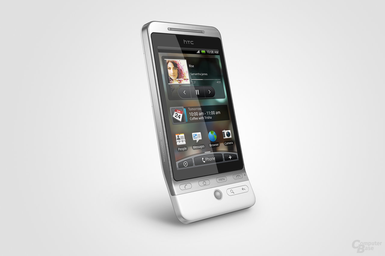 HTC Hero mit Sense-Bedienung