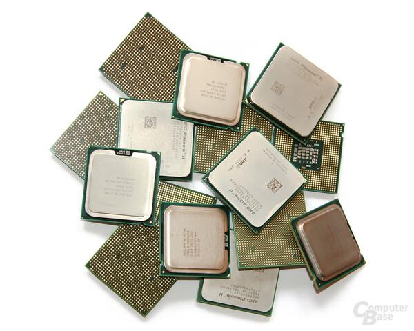 Sammlung an Prozessoren