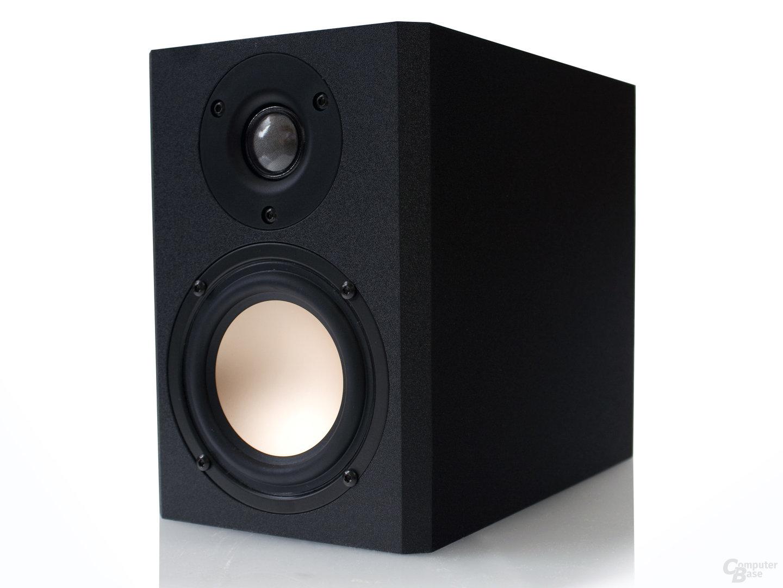 solides MDF-Gehäuse für die KroCraft Speaker