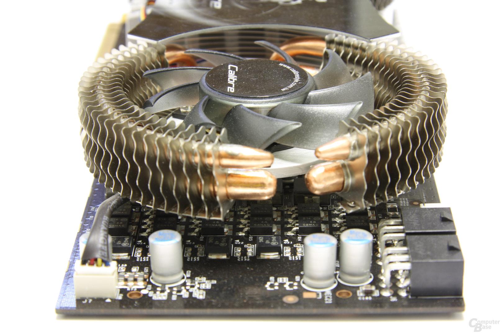 Calibre X265 von hinten