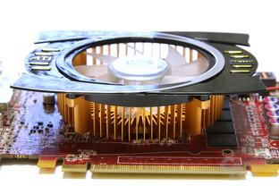 Radeon HD 4770 Kühlfläche