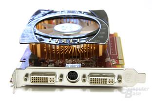 Radeon HD 4770 Slotblech