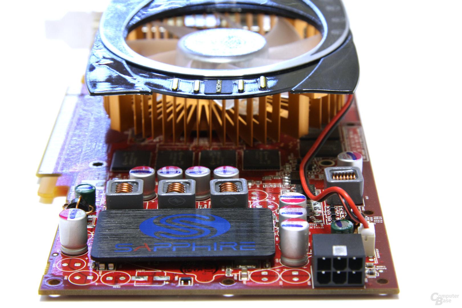 Radeon HD 4770 von hinten