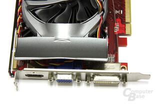 Radeon HD 4770 Formula Anschlüsse