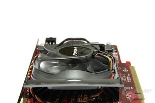 Radeon HD 4770 Formula Lüfteraufschrift