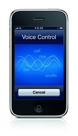 iPhone 3GS Sprachsteuerung