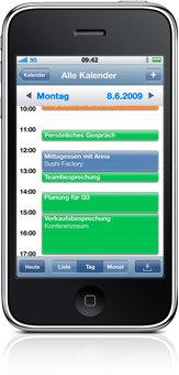 iPhone OS 3.0 - Kalender