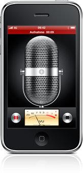 iPhone OS 3.0 - Aufnahme
