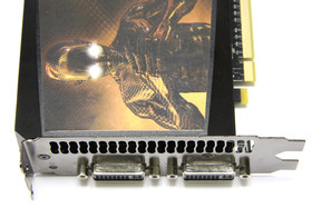 GeForce GTX 295 Anschlüsse