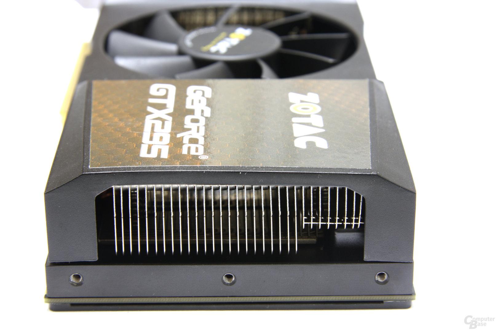 GeForce GTX 295 von hinten