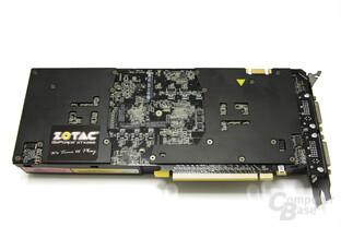 GeForce GTX 295 Rückseite