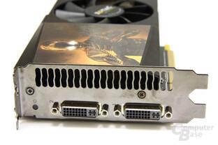 GeForce GTX 295 Slotblech