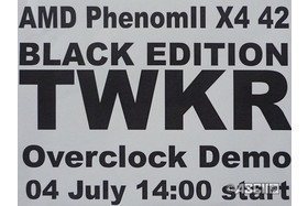 AMD-Overclocking-Event mit TWKR-CPUs