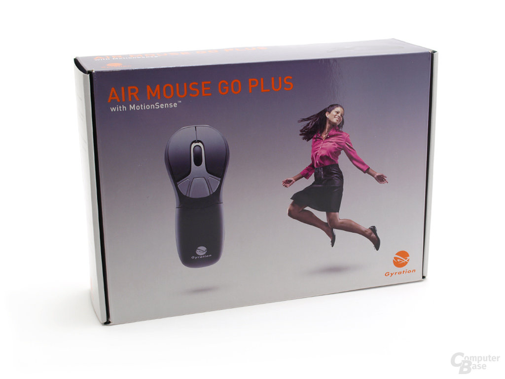Gyration Air Mouse Go Plus Verpackung