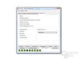 GyroTools: Aktivierung diverse Eventeinstellungen separat