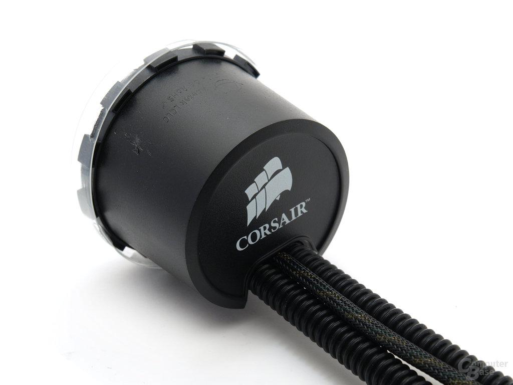 CPU-Kühlelement und Pumpe