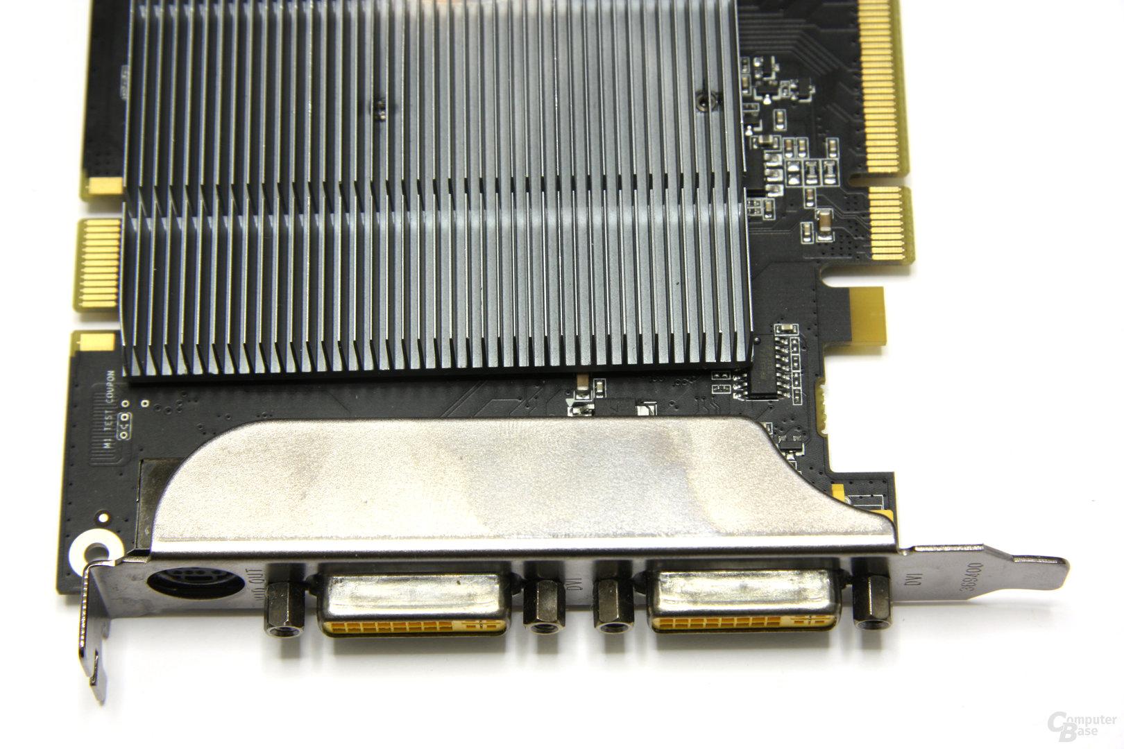 GeForce 9600 GT Eco Anschlüsse