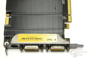 GeForce 9800 GT Eco Anschlüsse