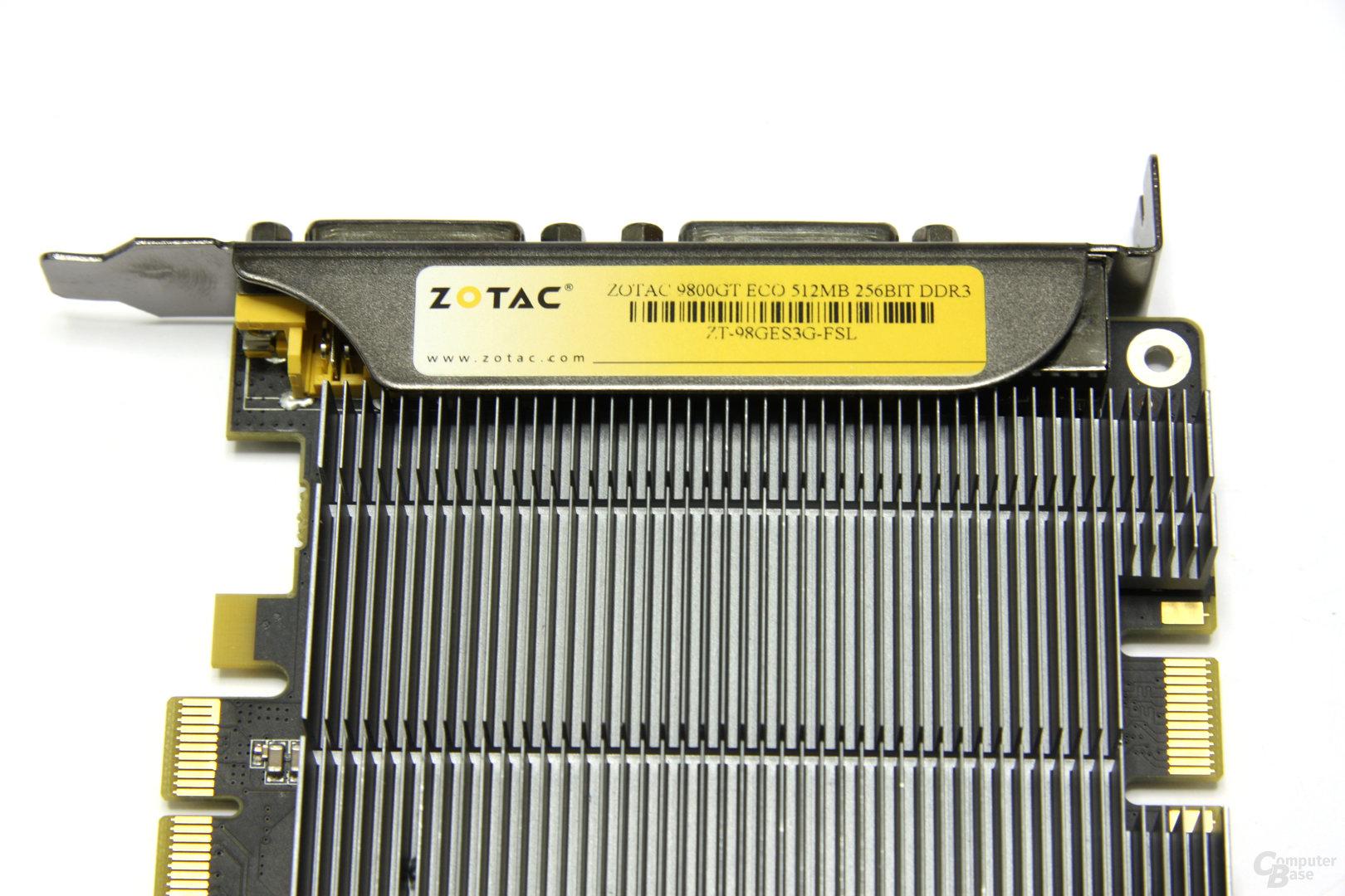 GeForce 9800 GT Eco Aufschrift