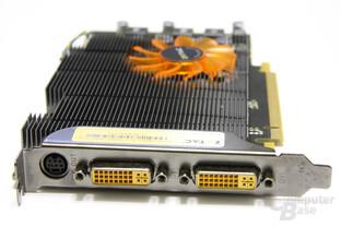 GeForce 9800 GT Eco Slotblech