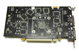 GeForce 9600 GT Eco Rückseite