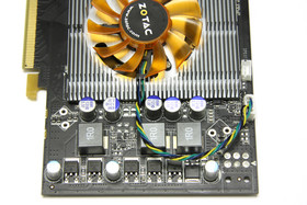 GeForce 9600 GT Eco Spannungswandler