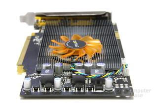 GeForce 9600 GT Eco von hinten