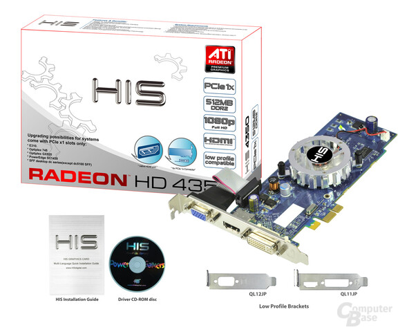 HIS Radeon HD 4350 iFan Native HDMI