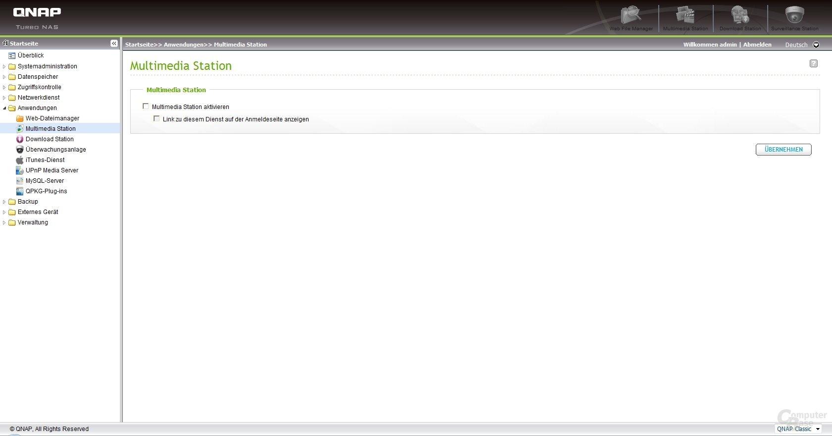 QNAP Firmware v3