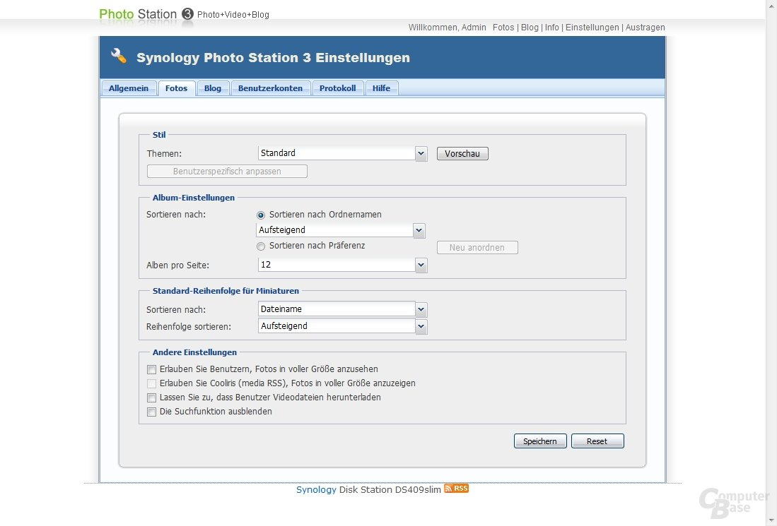 Synology Photo Station 3