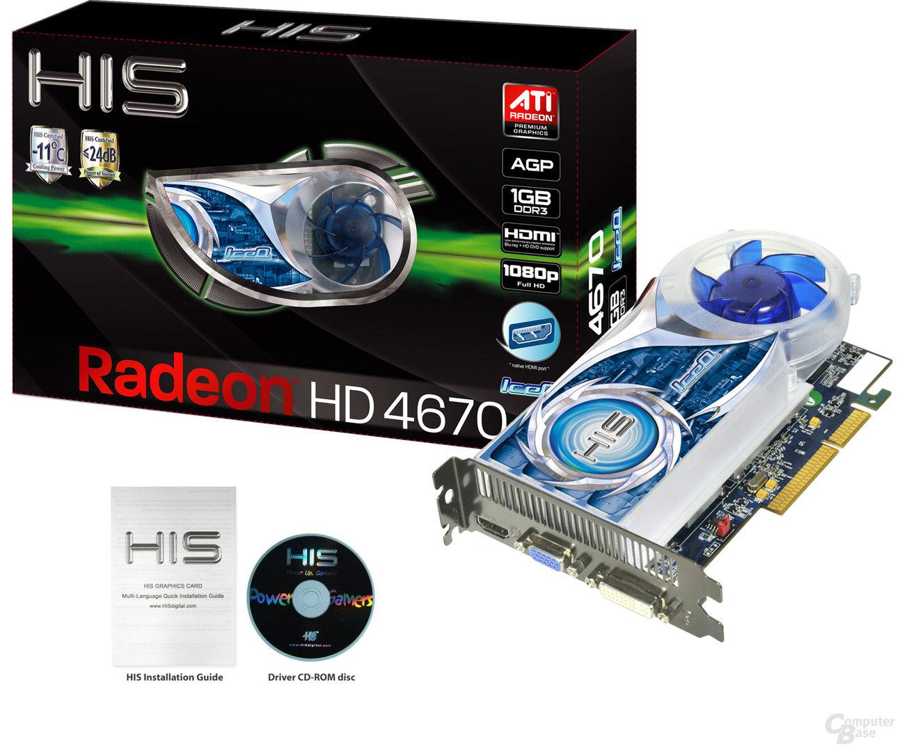 HIS Radeon HD 4670 AGP
