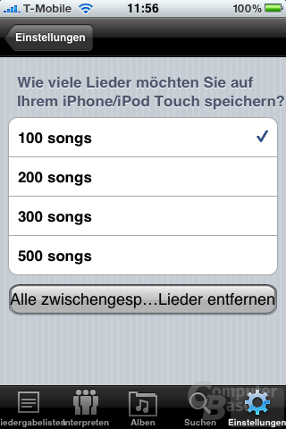 Synology DS Audio für iPhone und iPod touch