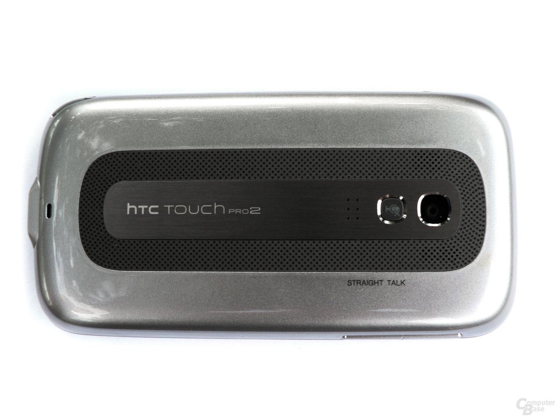 Die Rückseite des Touch Pro 2 kommt im nüchternen Stil daher