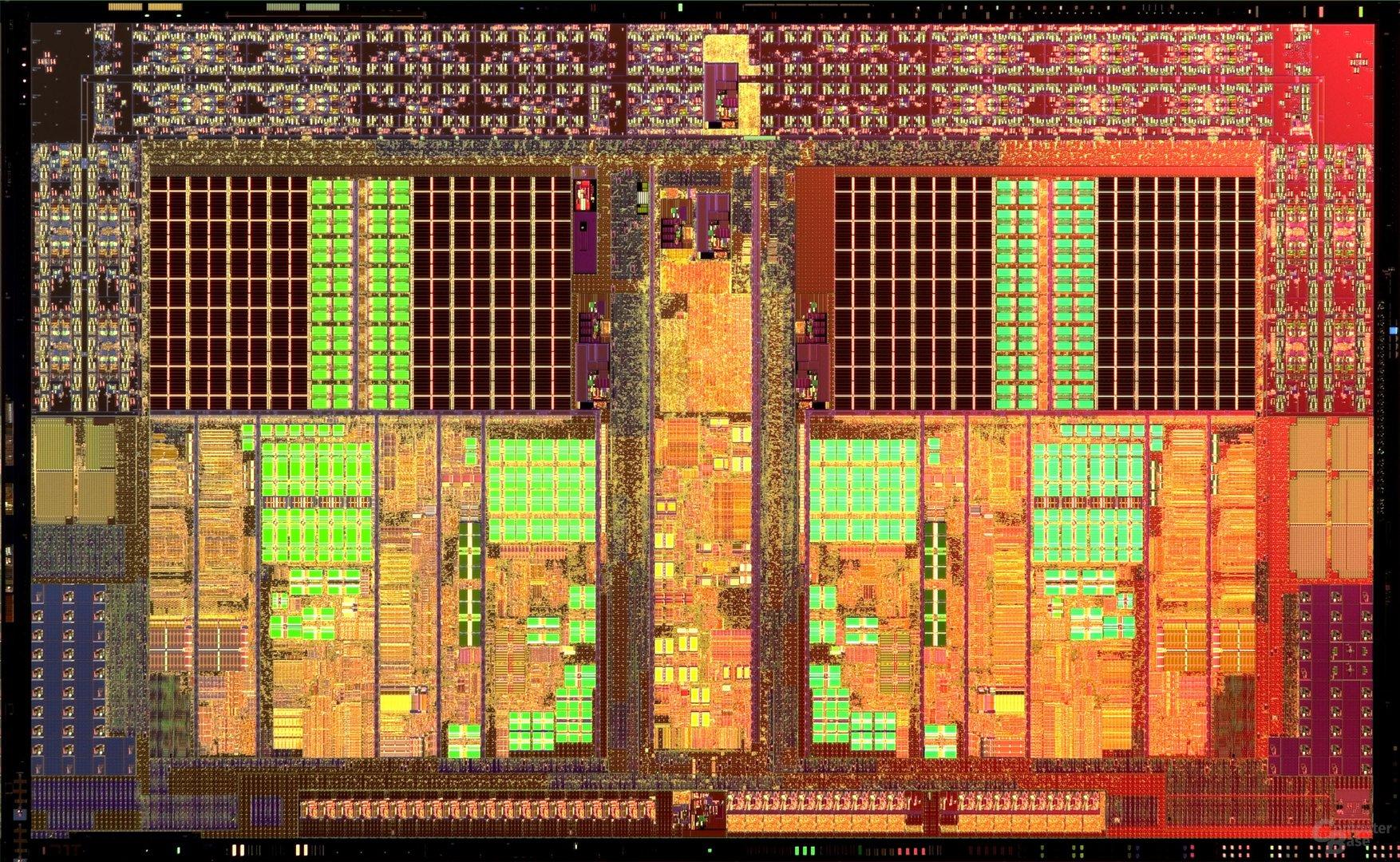 Die-Shot des Athlon II X2
