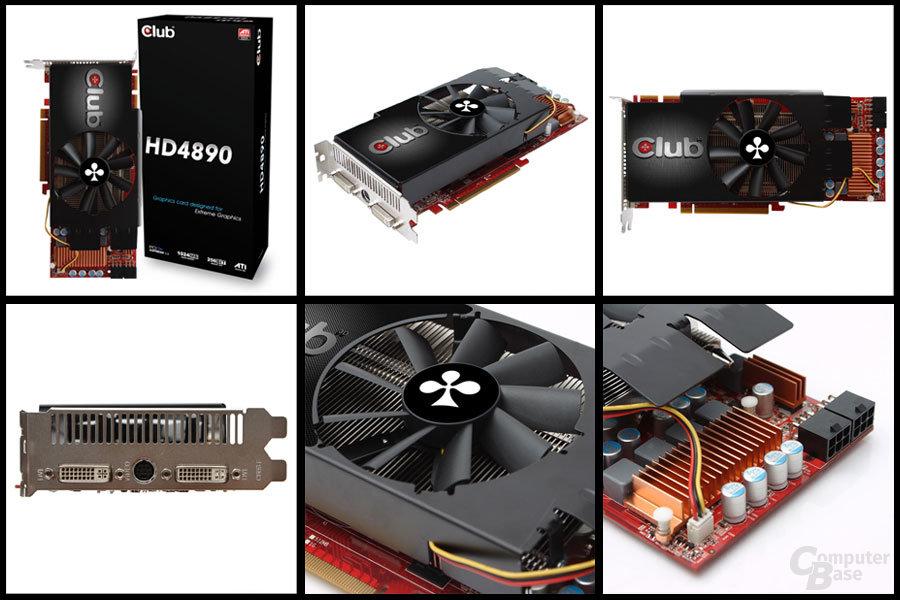 Club 3D Radeon HD 4890 mit alternativem Kühler