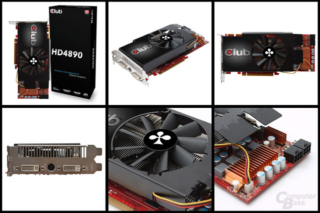 Club 3D Radeon HD 4890 mit alternativem Kühler