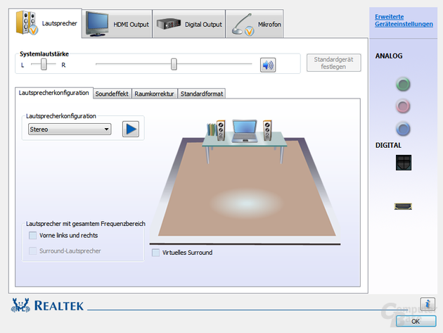 realtek hd audio manager windows 7 تحميل