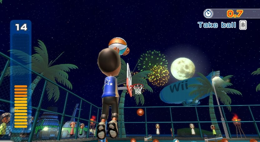 Wii Sports Resort - Basketball