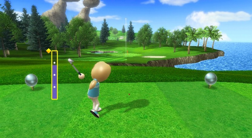 Wii Sports Resort - Golf