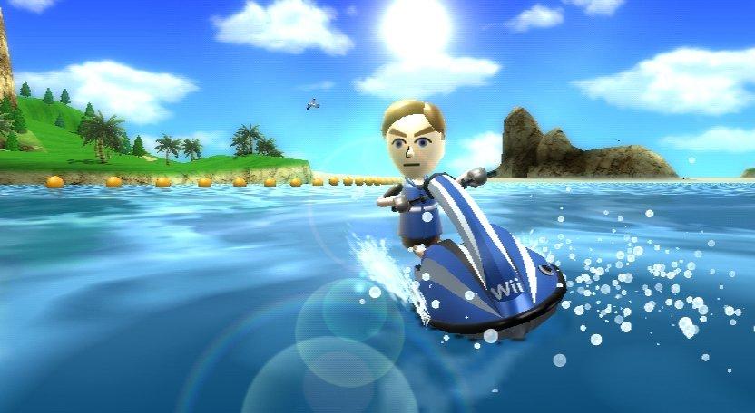 Wii Sports Resort - Jetboot