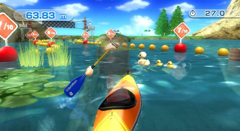 Wii Sports Resort - Kanufahren