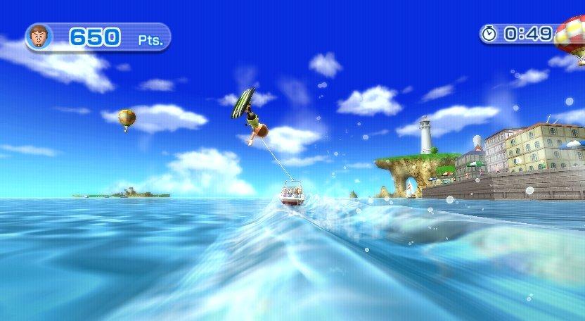Wii Sports Resort - Wakeboard