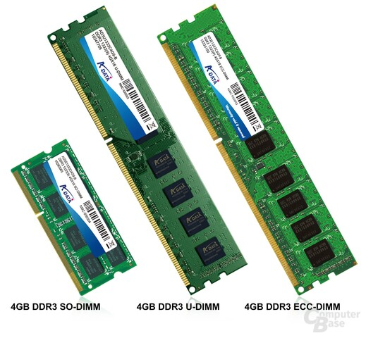 A-Data DRAM-DDR3-4GB