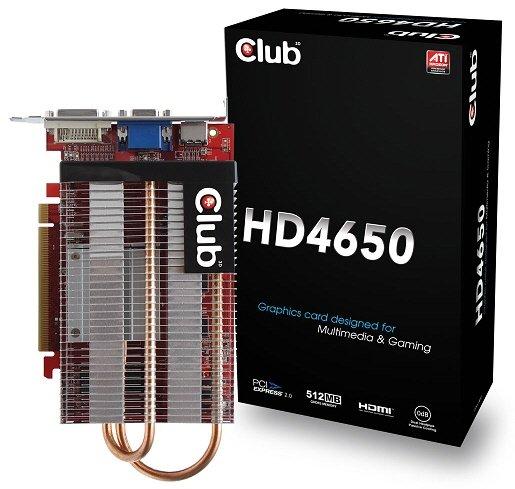 Club3D Radeon HD 4650
