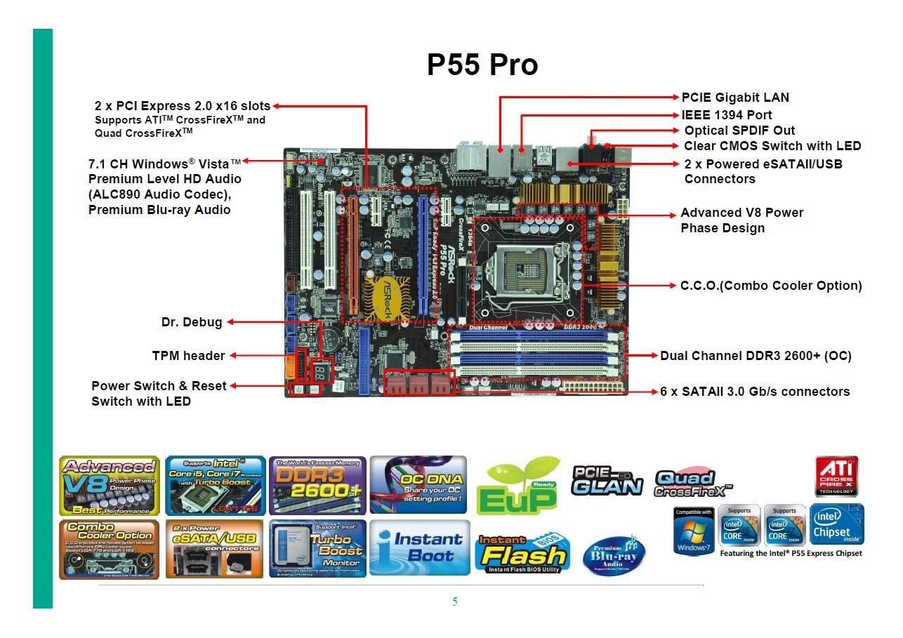 ASRock P55 Pro